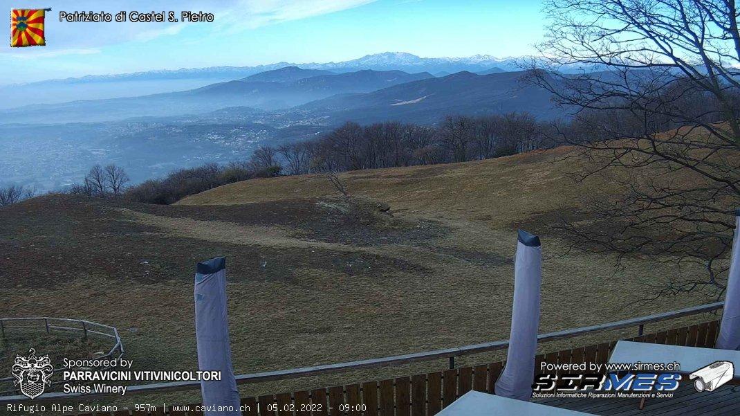 Webcam Ticino - Alpe Caviano
